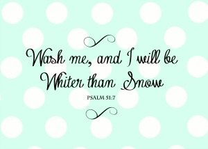 Psalm 51:7 Free Printable Bible Verse for Laundry Room | 11 Magnolia Lane