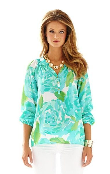 Lilly Pulitzer First Impressions Elsa Top