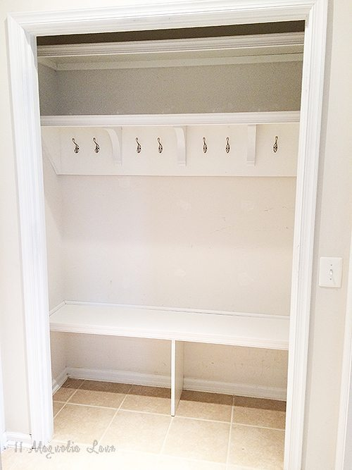 mudroom empty before