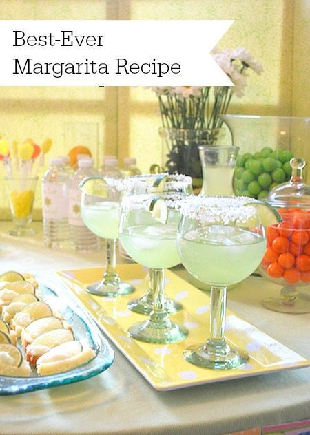 Best  ever margarita recipe