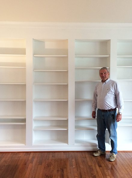 Diy Built In Custom Bookshelves Using Ikea Billy Bookcases Hack 11 Magnolia Lane