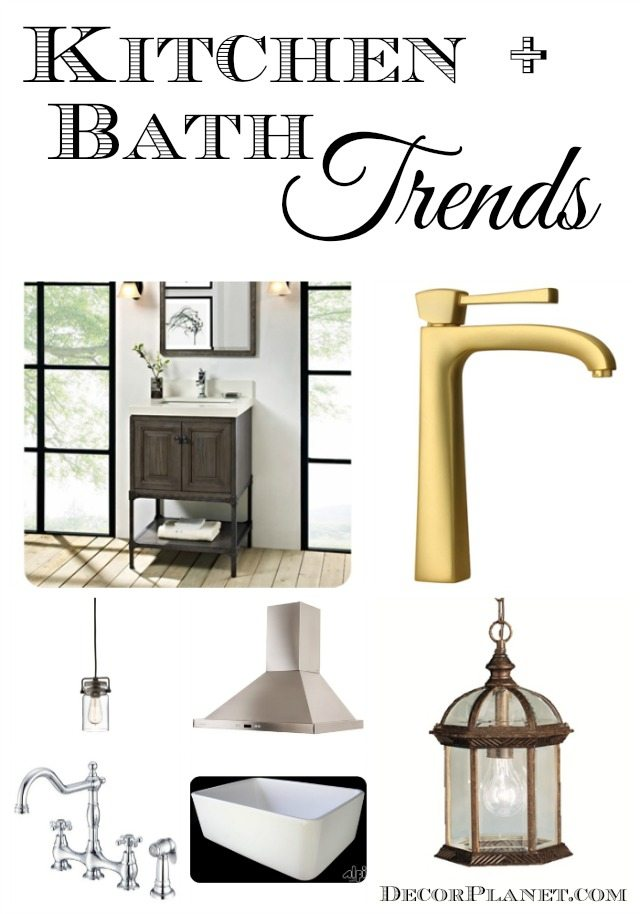 Trends in Kitchen & Bath Design From Decor Planet