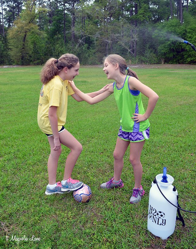 Easy cool-down soccer sprayer | 11 Magnolia Lane