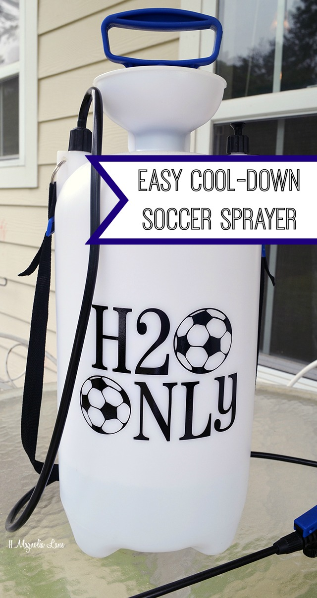 Easy cool-down soccer sprayer | 11 Magnolia Lane