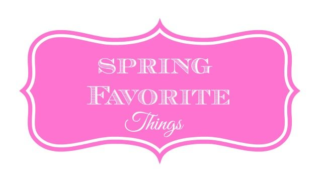 spring favorite things button