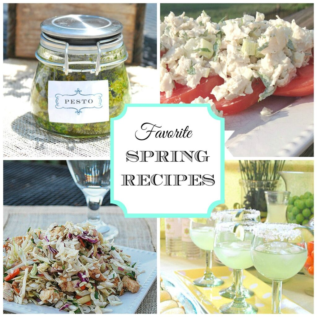 spring recipes header