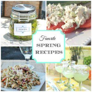 Easy Spring Recipes & Entertaining Ideas