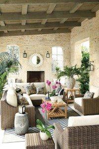 "Beautiful outdoor ""rooms""   Mohawk Creative Home"