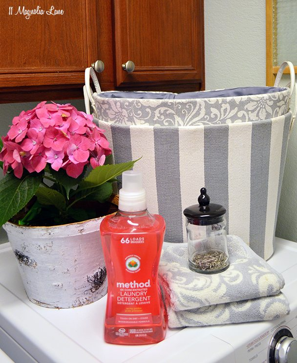 Laundry room with method laundry detergent | 11 Magnolia Lane