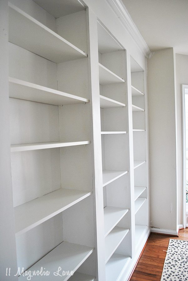 Bookshelves Images How to build diy built in bookcases from ikea billy bookshelves 11 shelves complete sisterspd