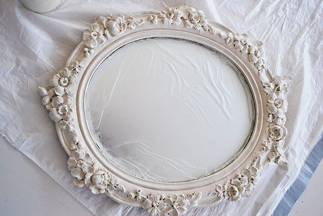 mirror-painted