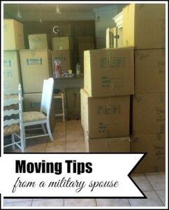 More Moving Tips (From a Military Spouse)