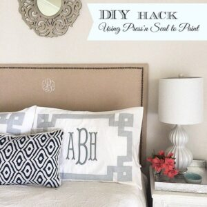 A favorite DIY Hack--Using Glad Press'n Seal for Painting