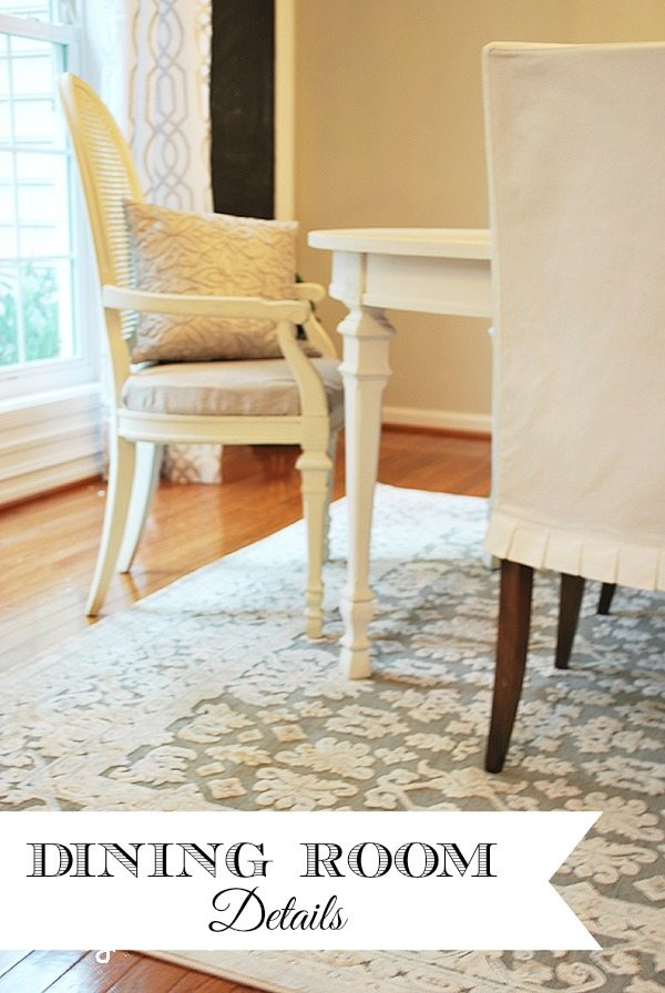 Dining Room Rug and Final Touches