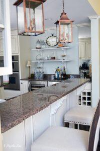 White French country kitchen | 11 Magnolia Lane