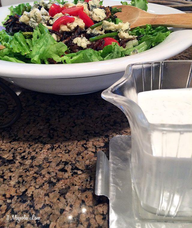 Summer grilled steak salad recipe | 11 Magnolia Lane
