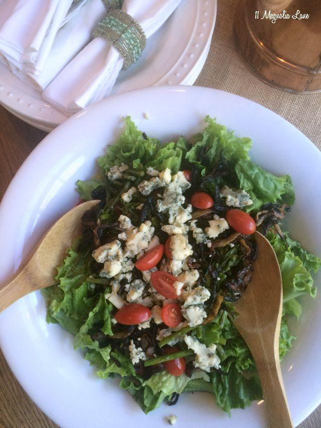 Steak salad | 11 Magnolia Lane