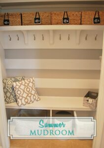 Summer Mudroom & Updates