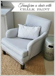 How to Transform a Chair with Chalk Paint