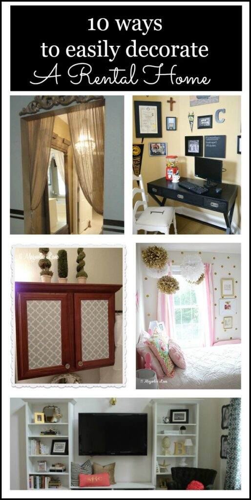 10 Ways To Decorate Personalize Rental Home Affordably