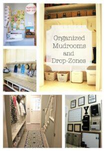 Organized Mudrooms & Drop Zones