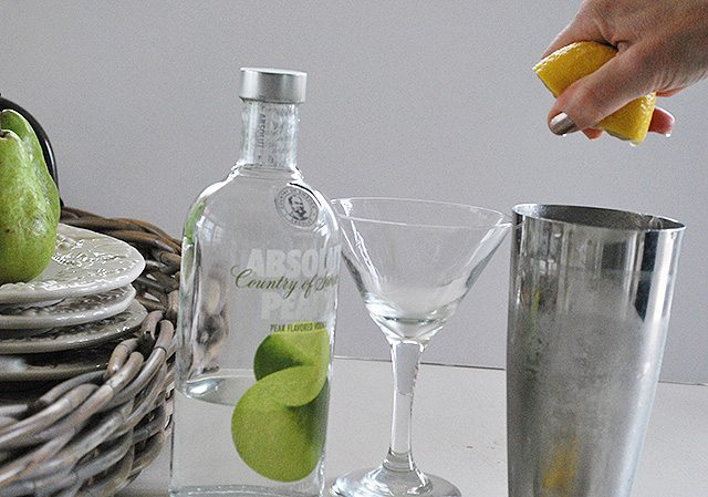 lemon-pear-martini