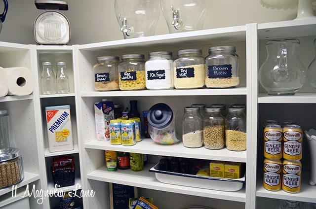 DIY walk-in pantry | 11 Magnolia Lane