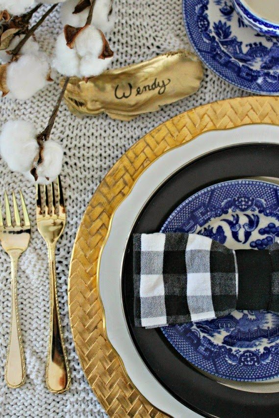 Southern State of Mind Thanksgiving Table Setting