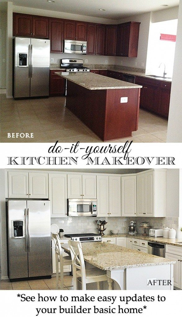 Kitchen makeoverreveal 11 magnolia lane kitchen before after reveal pinterest solutioingenieria Gallery