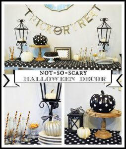 Halloween decor doesn't have to be scary! Check out these fun ideas here.