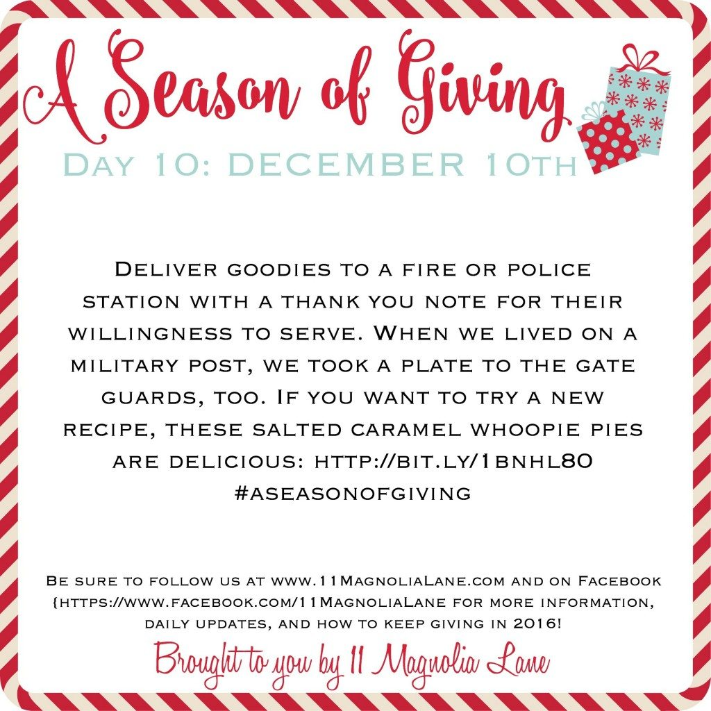 A Season of Giving: Day 10