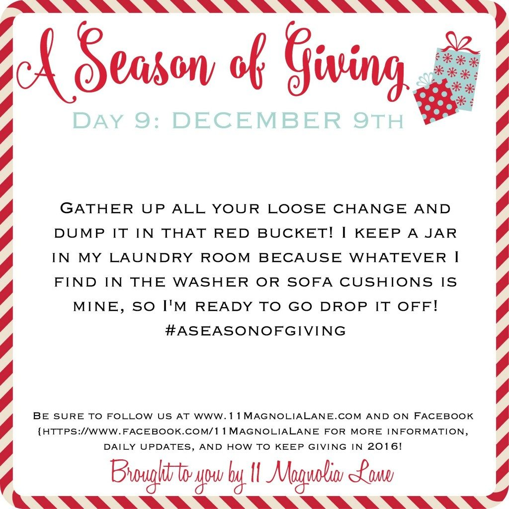 A Season of Giving: Day 9