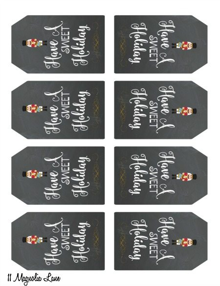 Free printable gift tags for sweet holiday treats 11 magnolia lane printable nutcracker gift tags 11 magnolia lane negle Gallery