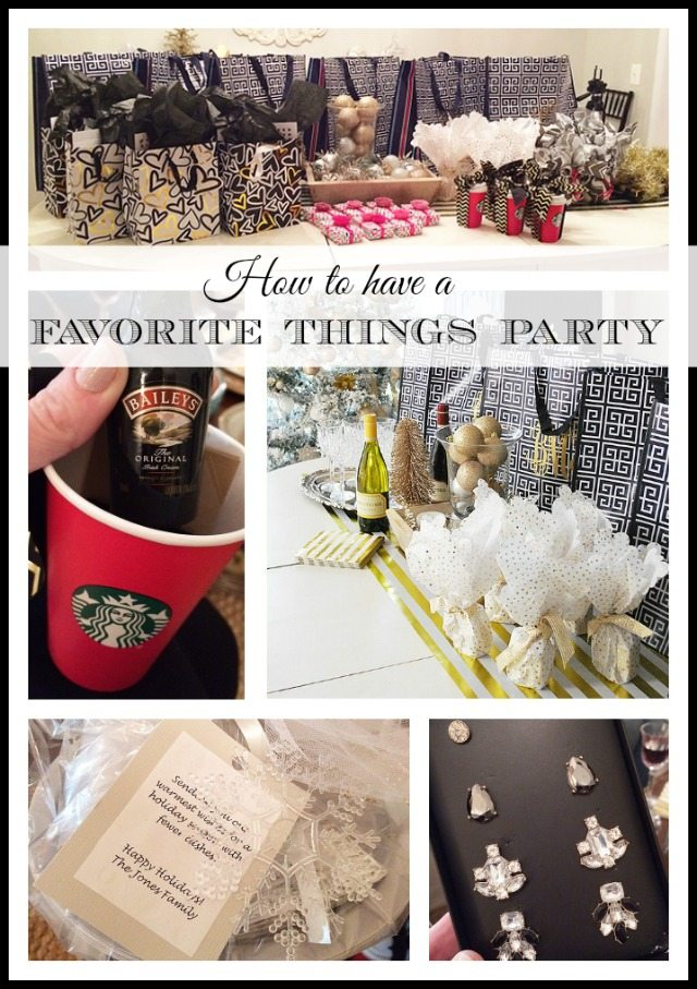 "Hosting or having a ""Favorite Things"" party? Here are some great ideas for gifts and to make the night easy and fun!"