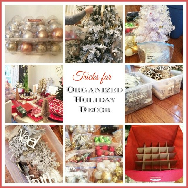 organizing christmas decor header - Magnolia Christmas Decor
