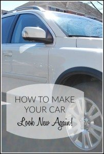 Making your Car *Sparkle* {and a Giveaway!}