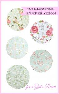 Wallpaper ideas for a little girls room or a nursery