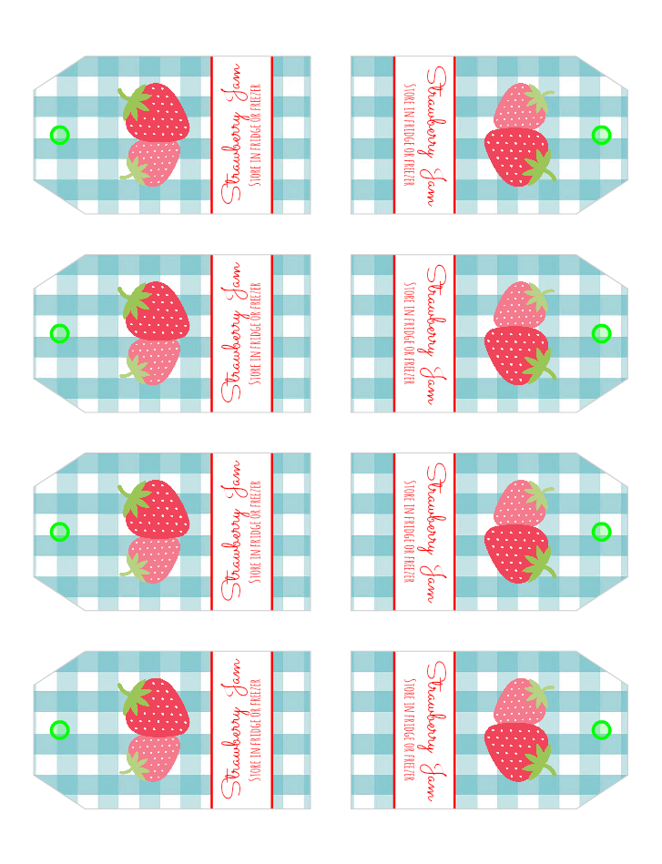 Strawberry-jam-labels
