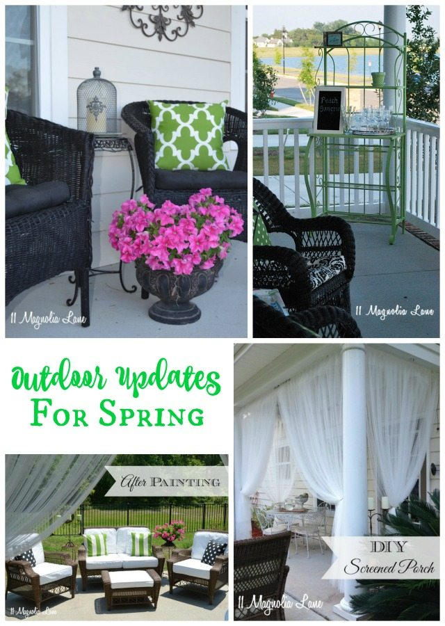 Outdoor updates for spring | 11 Magnolia Lane