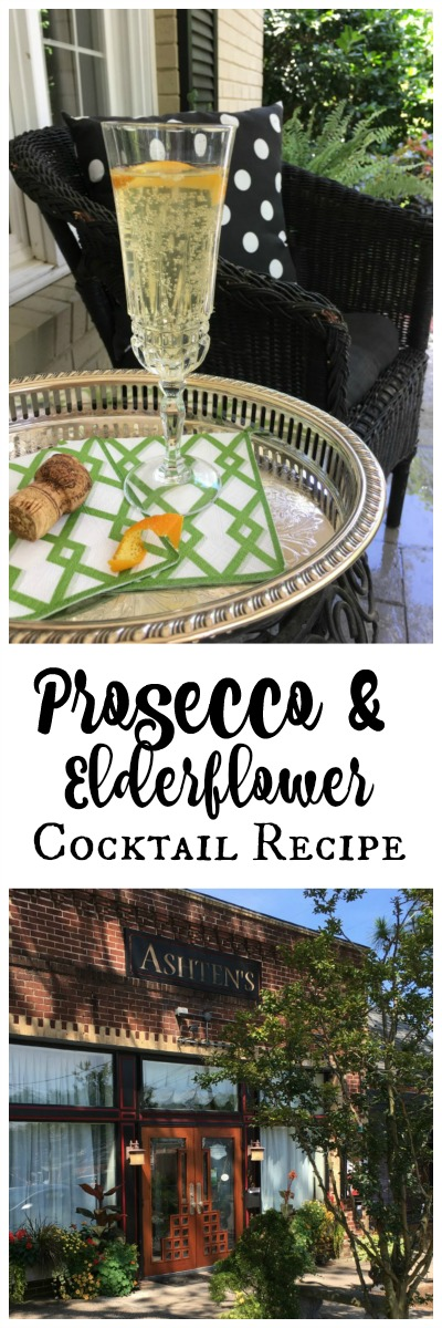Prosecco and elderflower cocktail recipe | 11 Magnolia Lane