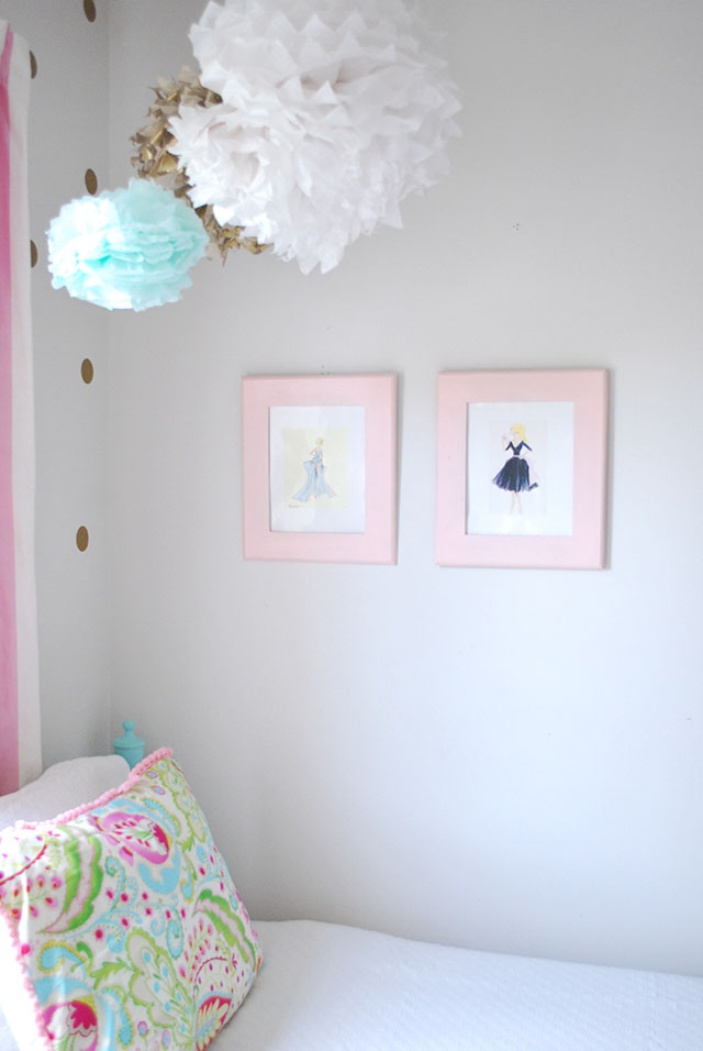 sloanes-room-vintage-twin-beds-tissue-poms-vintage-barbie-art