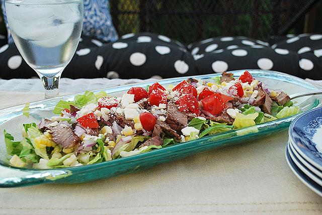 steak-feta-corn-salad