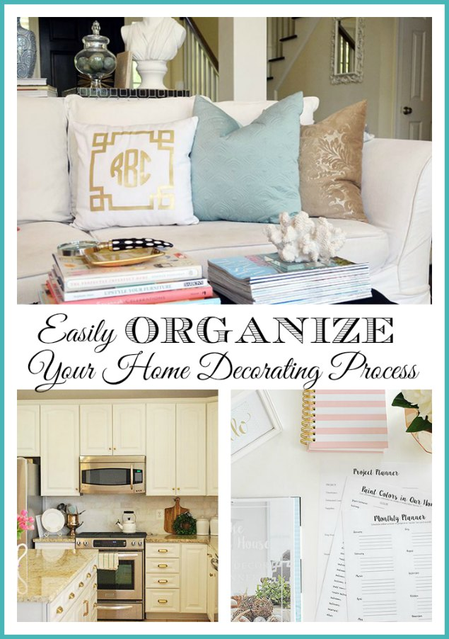Awesome How To Easily Organize And Make Progress In Decorating Your Entire Home.  {free Home