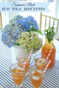 Ice Tea for Moms & Summer Tea for Kids {Recipes!}