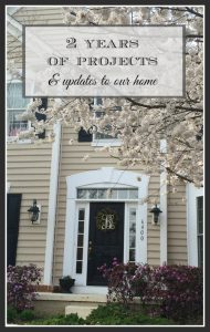Updating a builder basic home with easy and affordable projects, a full home tour including paint colors