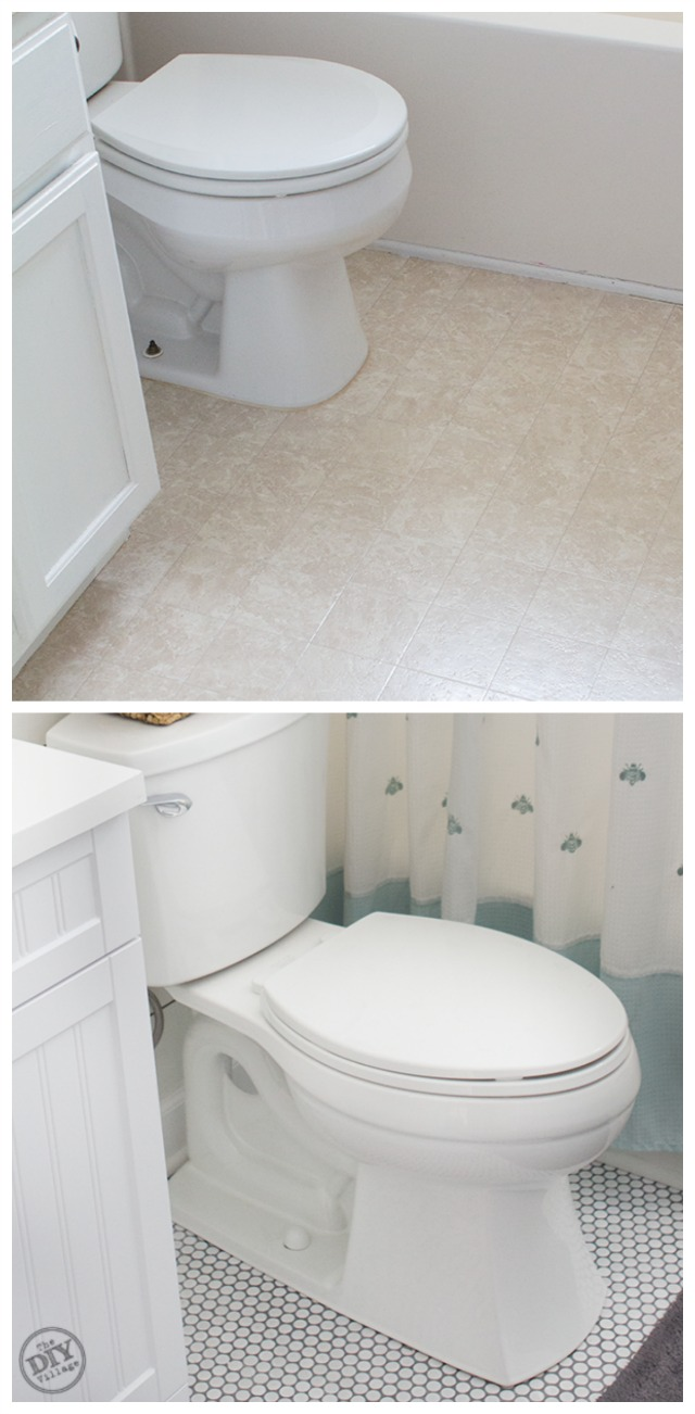 The DIY Village How to Install Penny Tile
