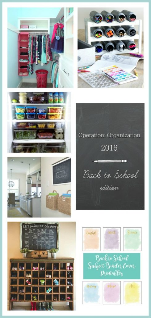 Operation: Organization Back to School 2016–Day TWO!