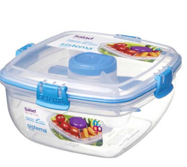 Sistema salad to go lunch container | 11 Magnolia Lane