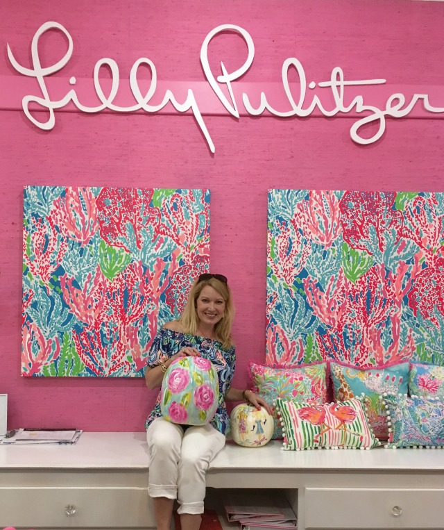 Christy at Lilly Pulitzer