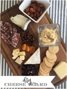 How to create a raised cheese board for cheese station entertaining display